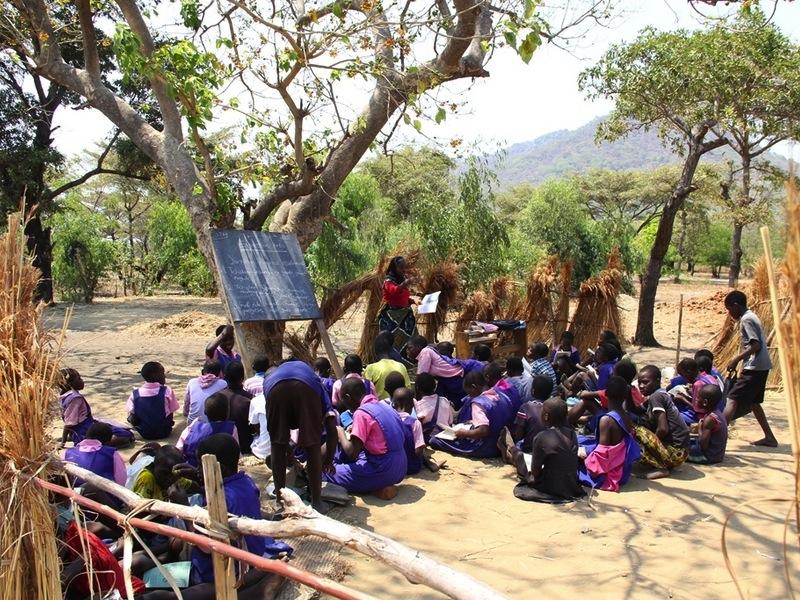 Classroom in Malawi