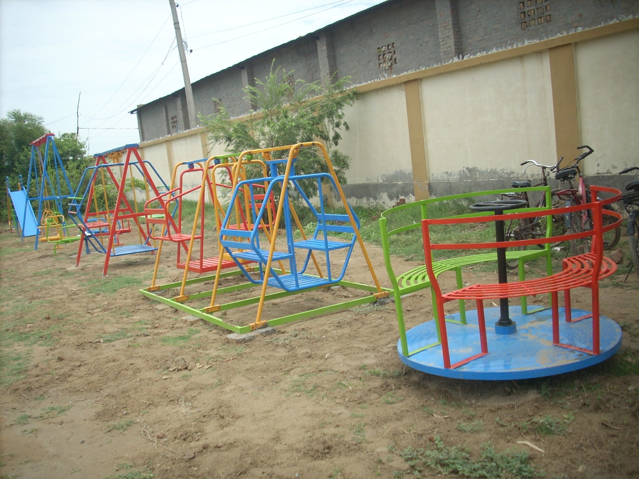 Playground finished in Abohar