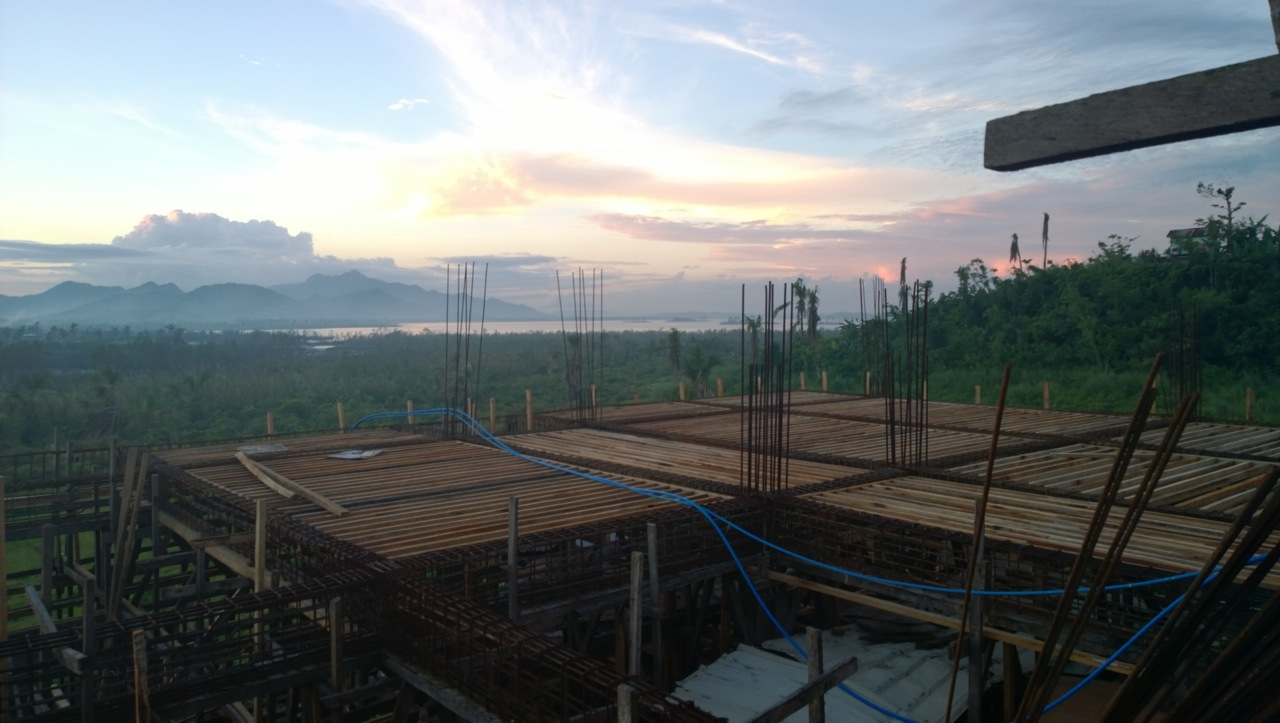 Work is progressing in Tacloban